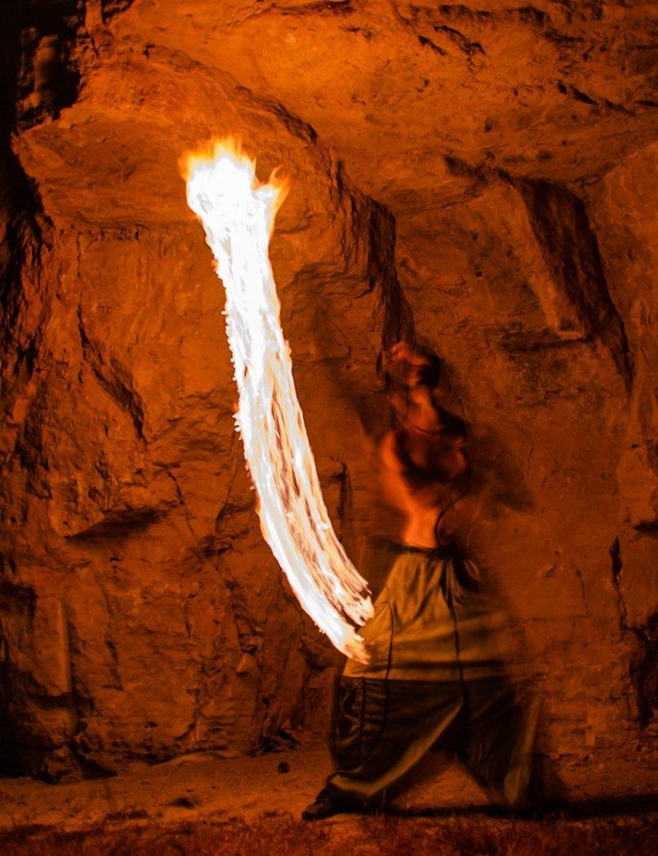 Люди огня: факиры на Кипре: фото 16