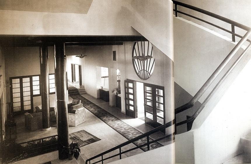 Интерьер отеля «Forest Park», 1936 год, Платрес, Кипр.