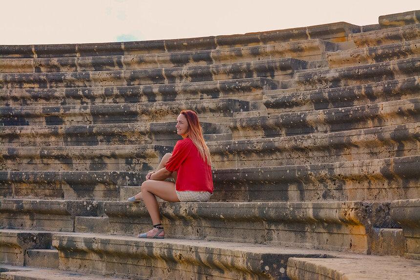 Древний Одеон - действующий античный театр на Кипре: фото 19