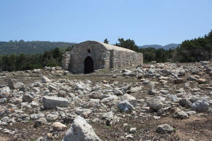 Church of St. George, Akamas, Cyprus