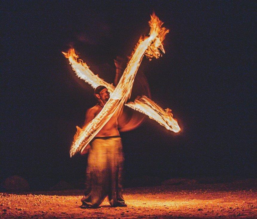 Люди огня: факиры на Кипре: фото 5