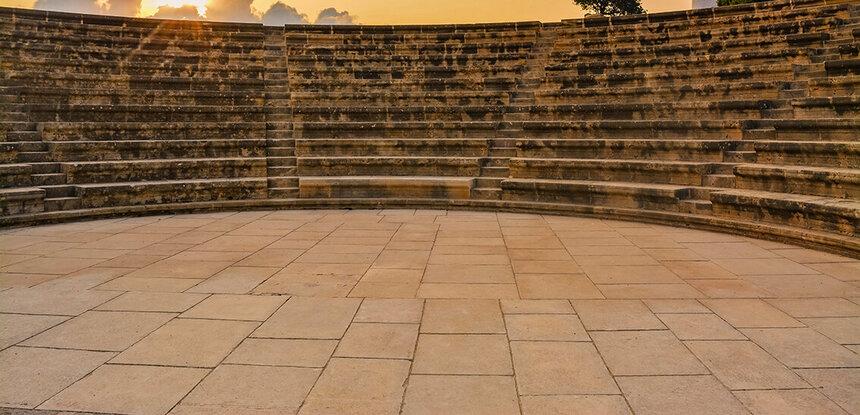 Древний Одеон - действующий античный театр на Кипре: фото 5