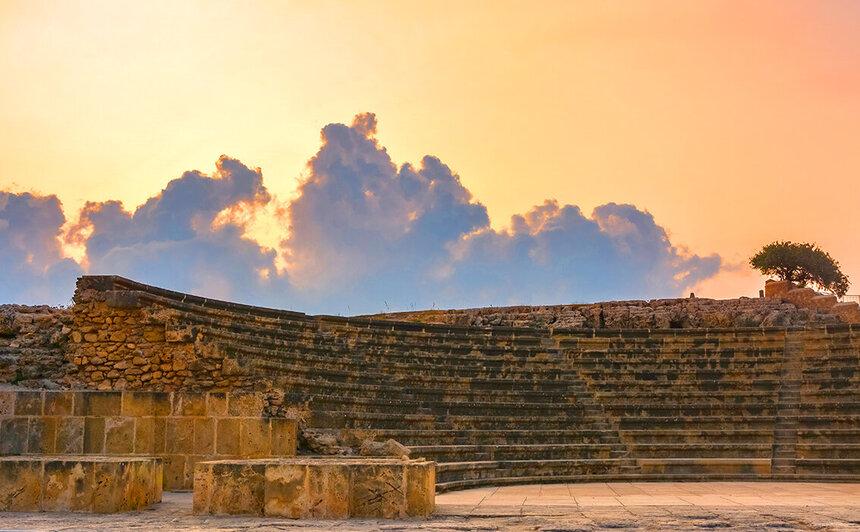 Древний Одеон - действующий античный театр на Кипре: фото 15