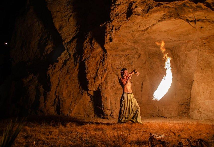 Люди огня: факиры на Кипре: фото 13