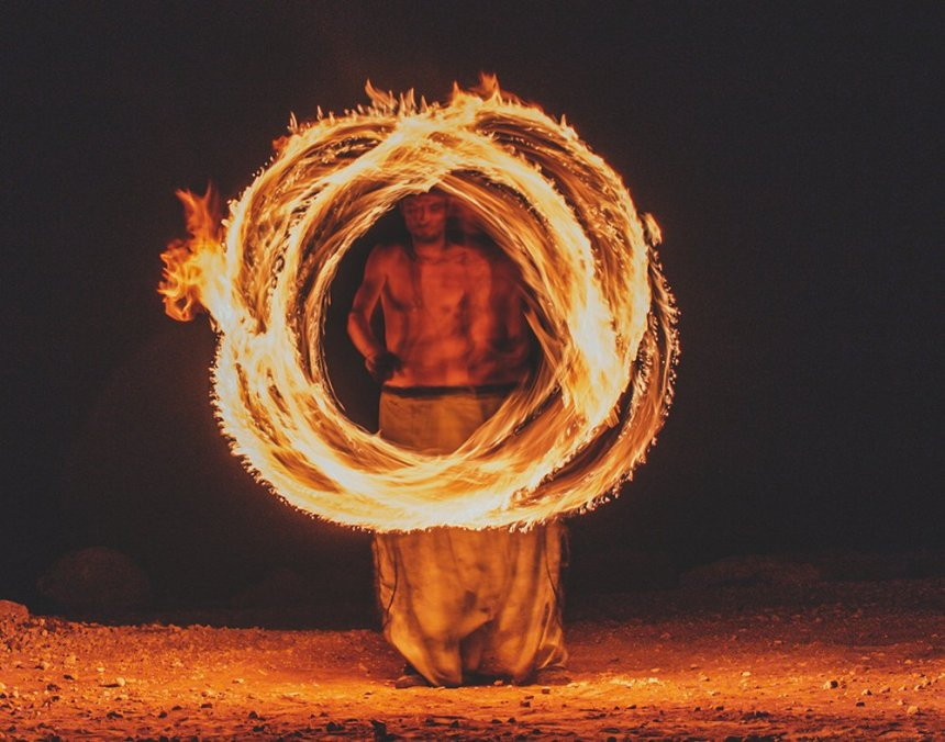 Люди огня: факиры на Кипре: фото 10