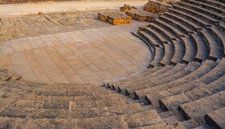 Древний Одеон - действующий античный театр на Кипре: фото 11