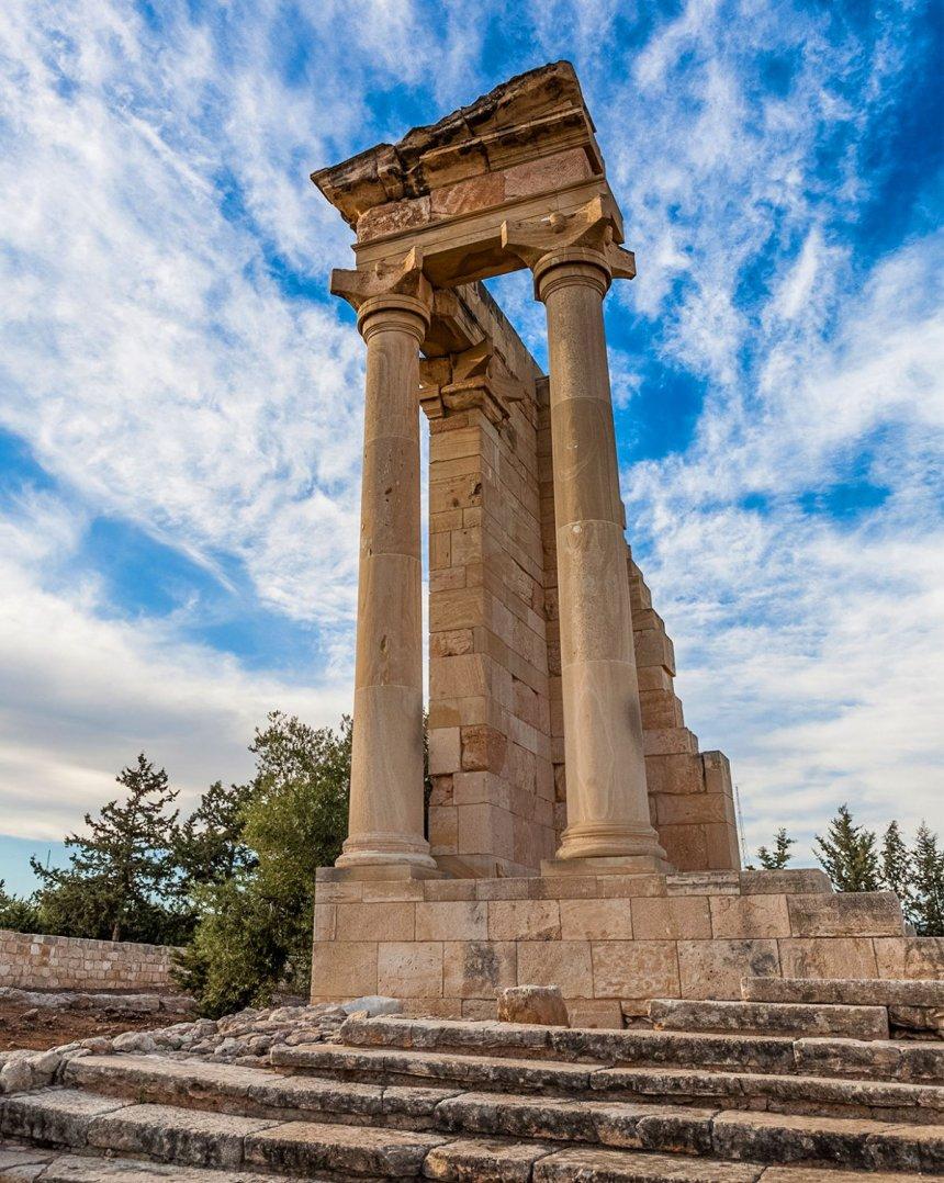 Древний Курион — одно из самых впечатляющих мест на Кипре: фото 12