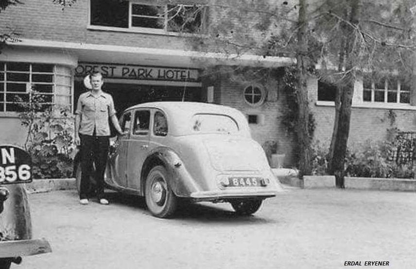 Отель «Forest Park», Платрес, Кипр, 1948 год.