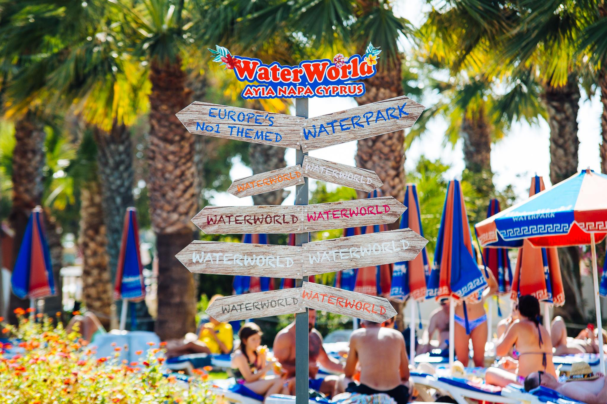 Аквапарк Water World в Айа-Напе, Кипр