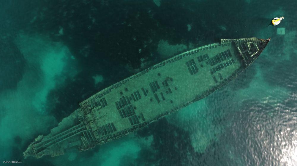 выложила затонувшие корабли фото со спутника природе всё девственно