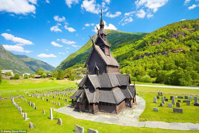 Borgund Stave Church, Lærdal, Norway