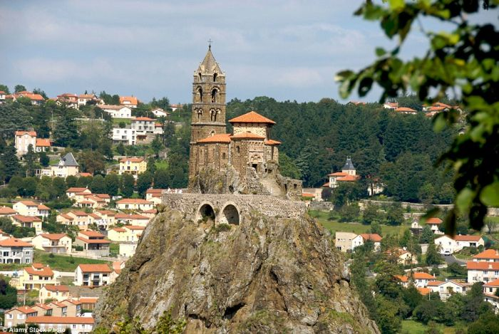 St Michel d'Aiguilhe, Le Puy-en-Velay, France